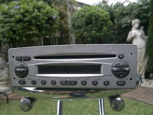 ALFA ROMEO-156-JTS-2003-FIT- GTV & SPIDER-GENUINE  CD  RADIO- IN GOOD CONDITION
