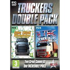 Truckers Double Pack (Euro Truck & UK Truck) Simulator Game PC 100% Brand New