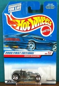 2000 First Editions Deuce Roadster- #6 of 36 Hot Wheels #066
