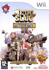 Metal Slug Anthology para Nintendo Wii & Wii U-en muy buena condición 4 Juegos en 1