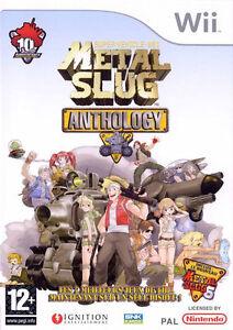 Metal Slug Anthology (Nintendo Wii, 2007) complete with manual