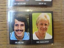 1979/1980 Football Sticker 79/80: 275) Tottenham Hotpsur - Don McAllister & 077)
