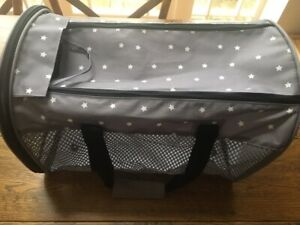 New - Small Dog Carrier - Collapsable, compact and foldable, ideal for travel