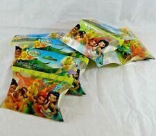 5 Pack Tinkerbell Disney Fairies Character Shape Silly Bandz Elastic Bracelets