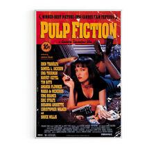 Pulp Fiction Movie Canvas Wall Decor Poster Home Bar & Club Vintage Art Print