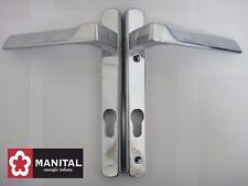 Manital Flash EURO profilo MANIGLIA Handle Di Blocco in finitura cromata-PZ - 92MM-NUOVO