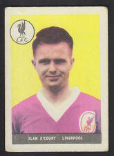 A&BC - Footballers (Without Planet 1-46) 1958 - # 14 Alan A'Court - Liverpool
