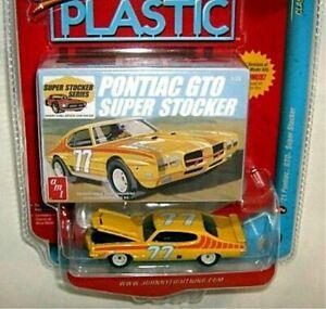 PONTIAC GTO SUPER STOCKER '71 1971 1/64 JOHNNY LIGHTNING CLASSIC PLASTIC RARE
