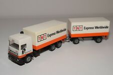 @. 1:55 SIKU 3815 DAF 95 TRUCK WITH TRAILER TNT EXPRESS WORLD N MINT CONDITION