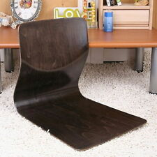 Floor Chair Japanese Legless Sitting Seat Wood L Shape Holding Home Living Room