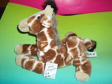 NWT AURORA Flopsies Collection Soft Floppy  Giraffe Plush Toy