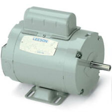 "1.5HP 1PH 3450RPM 56Z 115/230V 5/8"" SHAFT TEAO LEESON ELECTRIC MOTOR #111949"