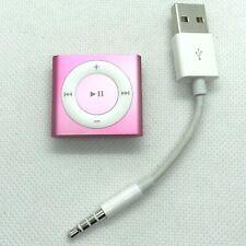 Apple iPod Shuffle 4ème Génération 2go rose A1373 + câble