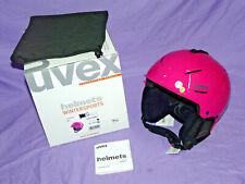 Brnad NEW! UVEX P1US Ski Snowboard HELMET sz Small 52-55cm Pink GERMANY NIB NEW!
