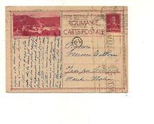8218 romania intero postale 12 lei monastere sucevitza 1942 solo to italy