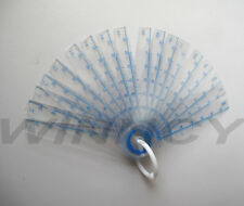 "Feeler Gage Guage Plastic Inspection 18 Leaves 2 3/4 "" (7cm)  Length 0.05-1.5mm"