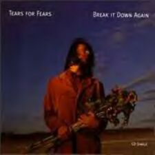 Tears For Fears Break It Down Again,  4 track USA  Cd
