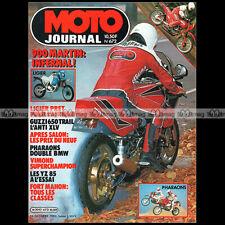 MOTO JOURNAL 672 GUZZI V 65 TT LIGIER 750 MARTIN-KAWASAKI GPZ 900 R NINJA 1984
