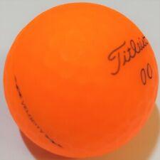 48 (4DZ) TITLEIST VELOCITY MATTE ORANGE GOLF BALLS TRUE MINT AAAAA NO PEN MARKS