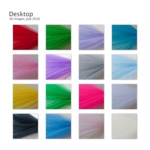 Dress Net Tutu Tulle Fabric Flare Free 150cm Wide 30+ Colours & Volume Discounts