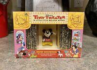 1993 Disney's Tiny Theater 10 Little Golden Books Box Set with PVC Figure