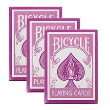 Bicycle Pink Playing Cards - 3 Decks
