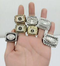 All 7PCS Fantasy Football Championship Trophy Ring Fan Great Gift For Men !!