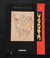1991 GENUINE CATERPILLAR 3406C ELECTRONIC DIESEL ENGINE SPECIFICATION BROCHURE