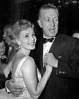 ZSA ZSA GABOR DANCING WITH DIRECTOR NICHOLAS RAY IN 1953 - 8X10 PHOTO (ZZ-318)