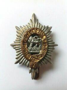 Original Worcestershire Regiment Cap Badge Worcester Staybrite (A/A)