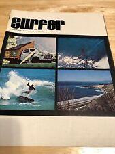 1971 Surfer Magazine May Volume 12 #2 Jeff Hackman, Blacks, Florida, The Bay