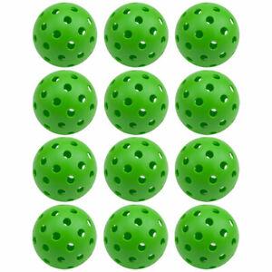 12-Pack of Standard Tournament 40 Holes Outdoor Pickleball Balls Meet USAPA