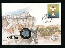Numis-Brief 1987 aus Algerien  (B18)