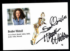Heather Whittall original firmado # bc 44212
