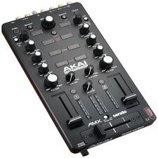 Akai AMX 2-Channel Mixing Surface Audio Interface Mixer with Serato DJ Software