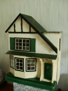 Antique Doll House Triang LINES Bros 1925/1930 for tlc PLUS FURNITURE