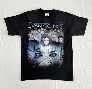 EVANESCENCE FALLEN t-shirt 2000s