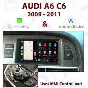 Audi A6 C6 2009 - 11 3G MMI - Apple CarPlay & Android Auto Integration