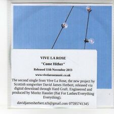 (EN929) Vive La Rose, Come Hither - 2013 DJ CD