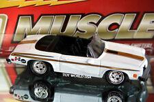 Johnny Lightning Hurst Muscle Linda Vaughn 1974 Hurst Olds Convertible
