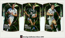 2009 Select NRL Classic Holofoil Jersey Die Cut Card Team Set Warriors (6)