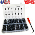 330pc Plastic Rivets Fastener Fender Bumper Push Clips w/ Removal Tool for Dodge  for sale