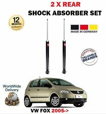 Para Vw Fox 1.2 1.4 TDI 2005 -- > 2X Eje Trasero Amortiguador Shocker Set
