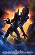 Alien 15th Anniversary Movie POSTER 1994 Ridley Scott Ripley Predator