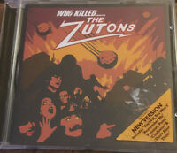 THE ZUTONS CD - WHO KILLED....
