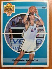 Carte basketball cards Panini 1994 Olympique Antibes SNB #9 Frédéric Domon