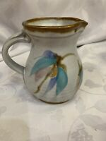 "Will & JoHanna DeMay Studio Art Pottery 4.75"" Creamer  Pitcher Pastels"