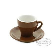 Espresso Tasse braun dickwandig Made in Italy - Caffe Milano