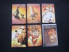 Wolverine The Origin set - highgrade, signed