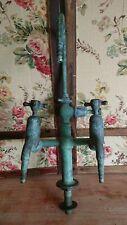 Vintage Filter Tap Drinking Water Kitchen Sink Copper Reclaimed Lab Industrial